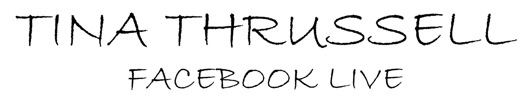 Tina Thrussell Signature